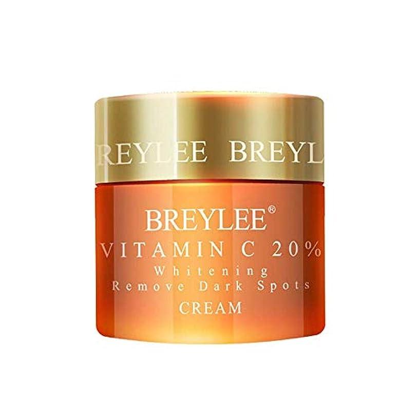 事業モニカ衰えるBREYLEE ヒアルロン酸 保湿クリーム 20%ビタミンC配合 美白 皮膚の引き締め (ビタミンC)