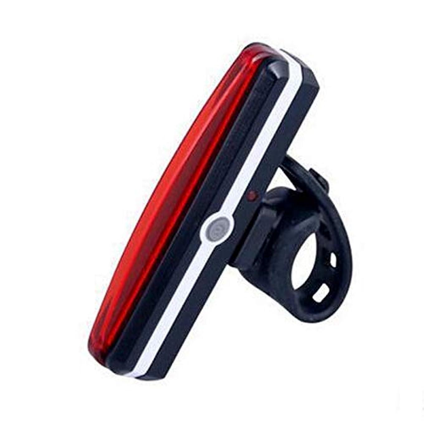 不承認はっきりしない揺れる自転車のテールライト IPX6防水 夜間走行の視認性をアピール COB LED USB充電可USBケーブル付き
