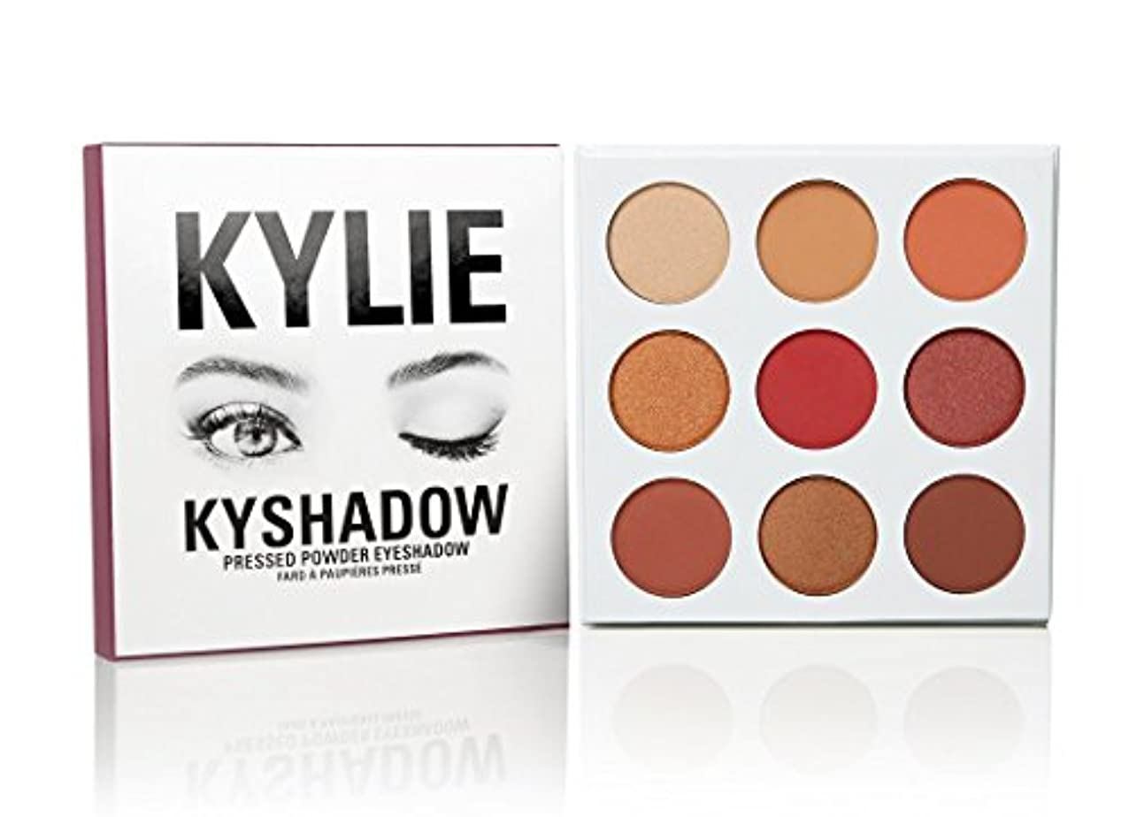Kylie Cosmetics(カイリーコスメティック)The Burgundy Palette KYSHADOW 新作 9色アイシャドウパレット
