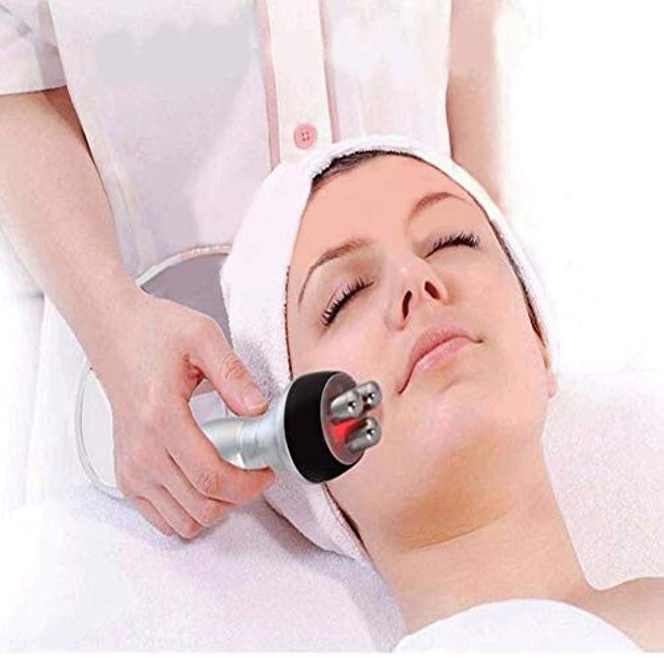 瞑想的ソーセージ中間美容デバイス - RF無線周波数フェイシャル?マシン、ホーム用アンチエイジングを引き締め肌の若返りしわ除去肌のためのポータブル?フェイシャルマシン