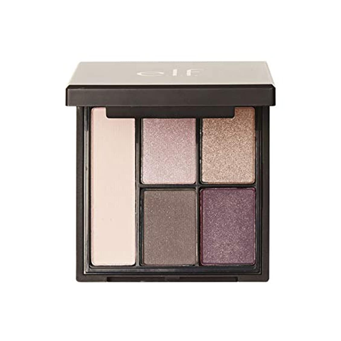 目的理想的局e.l.f. Clay Eyeshadow Palette - Saturday Sunsets (並行輸入品)