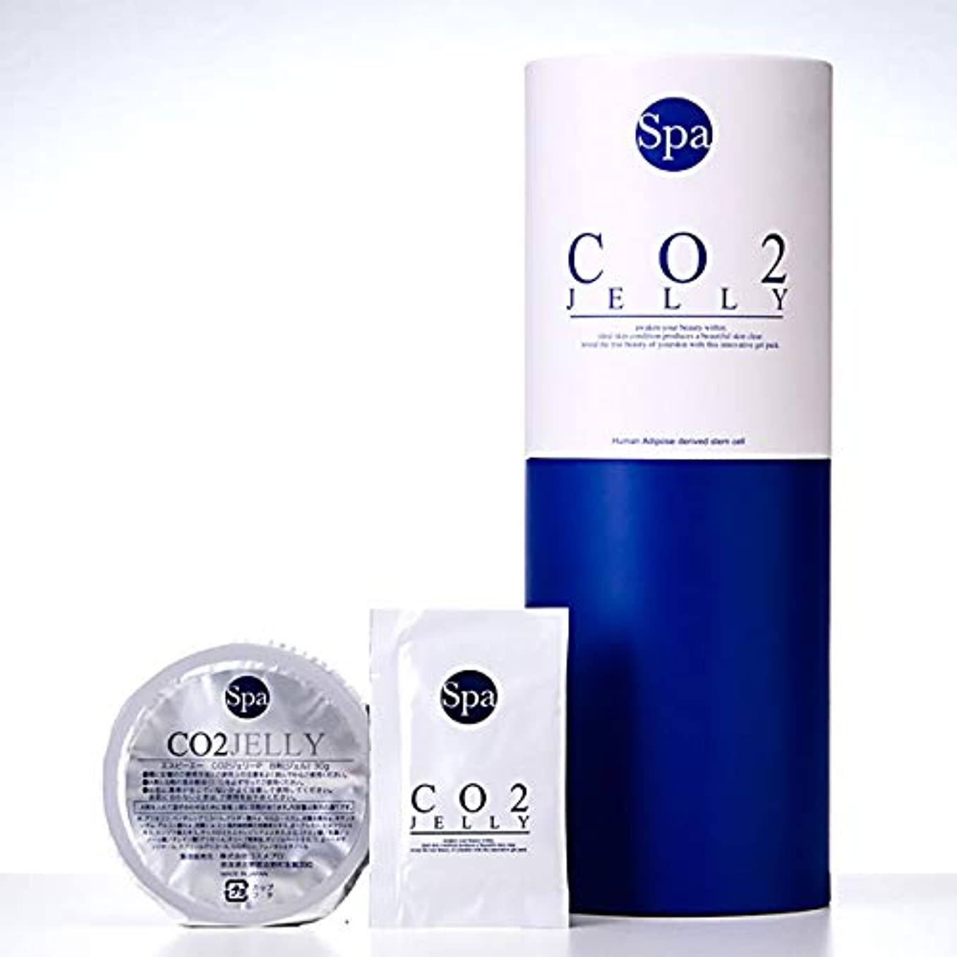 情熱的割るマオリSpa(エスピーエー)CO2 JELLY ジェリー (5回分)日本製 炭酸パック ジェル