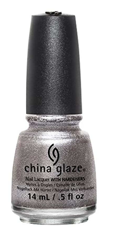 統合する期間スピンCHINA GLAZE The Great Outdoors Collections Check Out The Silver Fox (並行輸入品)
