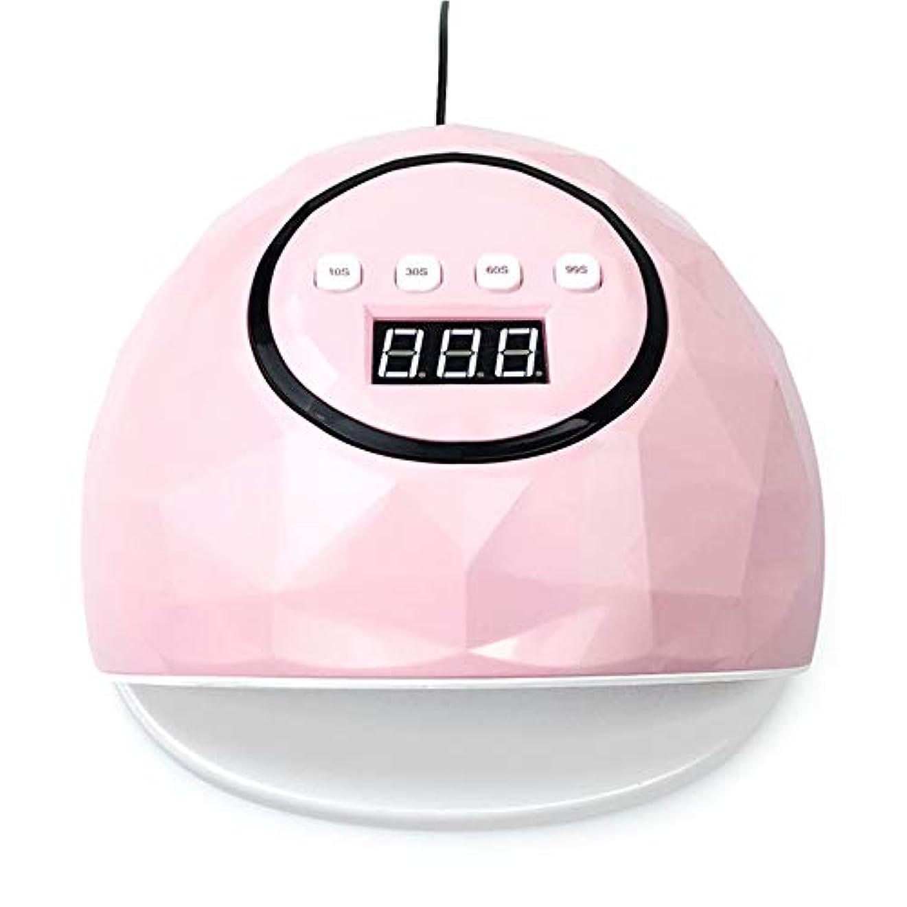 既に凍る陽気な86W UV LEDライトは、39 LEDネイルドライヤー、UVジェルネイルポリッシュを治すためにマニキュアマシンマニキュアを使用することができます,ピンク