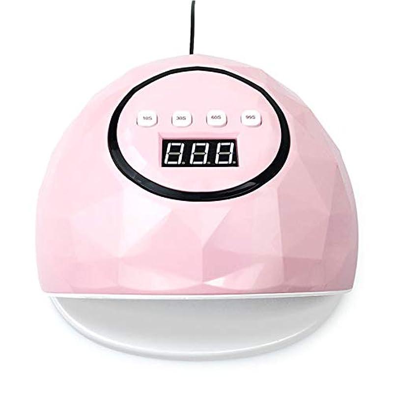 細部写真を撮るコンテンポラリー86W UV LEDライトは、39 LEDネイルドライヤー、UVジェルネイルポリッシュを治すためにマニキュアマシンマニキュアを使用することができます,ピンク
