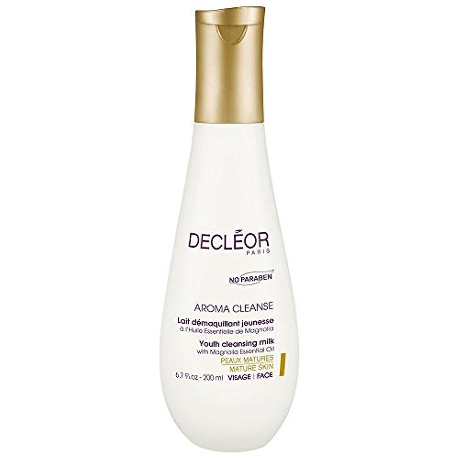 保存箱トラック[Decl?or] モクレンエッセンシャルオイル、200ミリリットルとデクレオール若者のクレンジングミルク - Decl?or Youth Cleansing Milk With Magnolia Essential Oil...