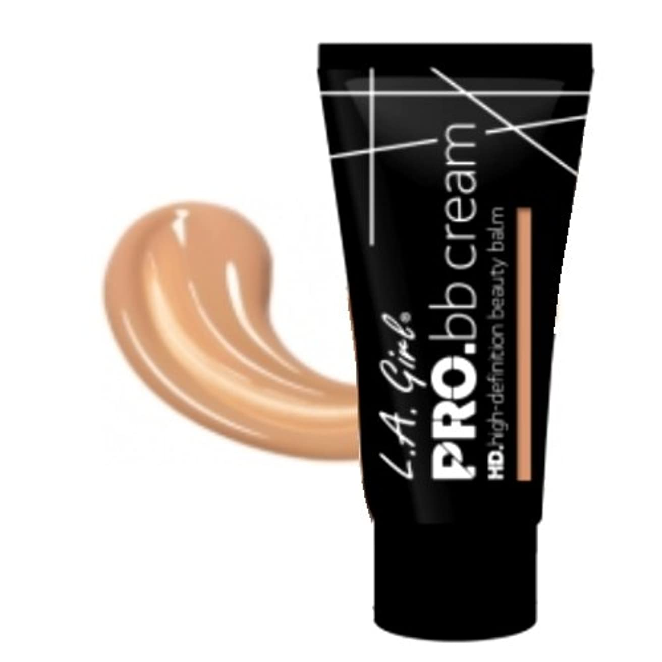 控えめな失礼誓約(3 Pack) LA GIRL HD Pro BB Cream - Medium Deep (並行輸入品)