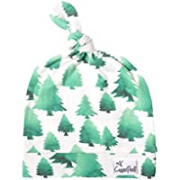 Baby Beanie Hat Top Knot Stretchy Soft for Boy Forest by Copper Pearl [並行輸入品]