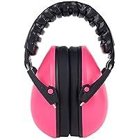 Manyao 21dBベビーケア用耳覆い聴覚保護騒音低減耳保護具安全性 (ピンク)