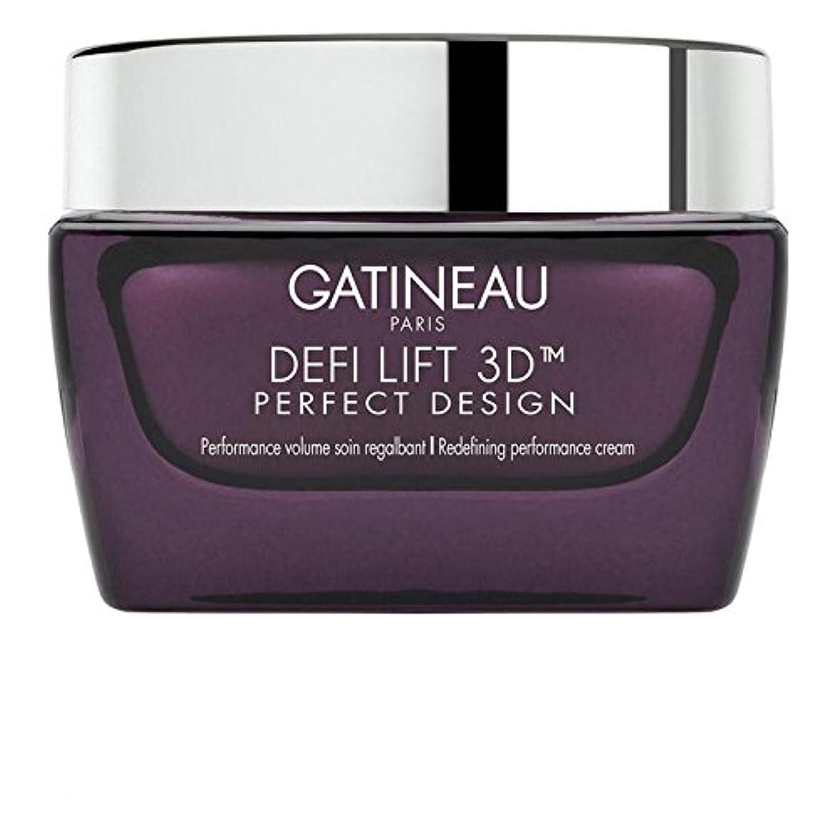 眼送る卒業ガティノー 3完璧なデザインの再定義パフォーマンスクリーム50 x2 - Gatineau DefiLIFT 3D Perfect Design Redefining Performance Cream 50ml (Pack...