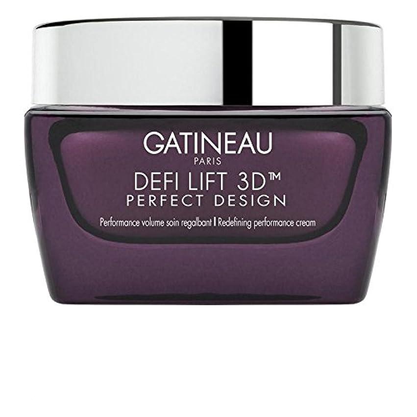 道徳むしろ特別にGatineau DefiLIFT 3D Perfect Design Redefining Performance Cream 50ml (Pack of 6) - ガティノー 3完璧なデザインの再定義パフォーマンスクリーム...