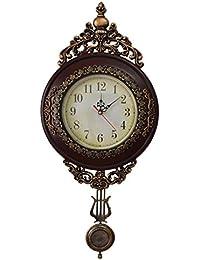GIFT GARDEN 掛け時計 アンティーク ペンデュラム 北欧 オシャレ ウォールクロックB4003A