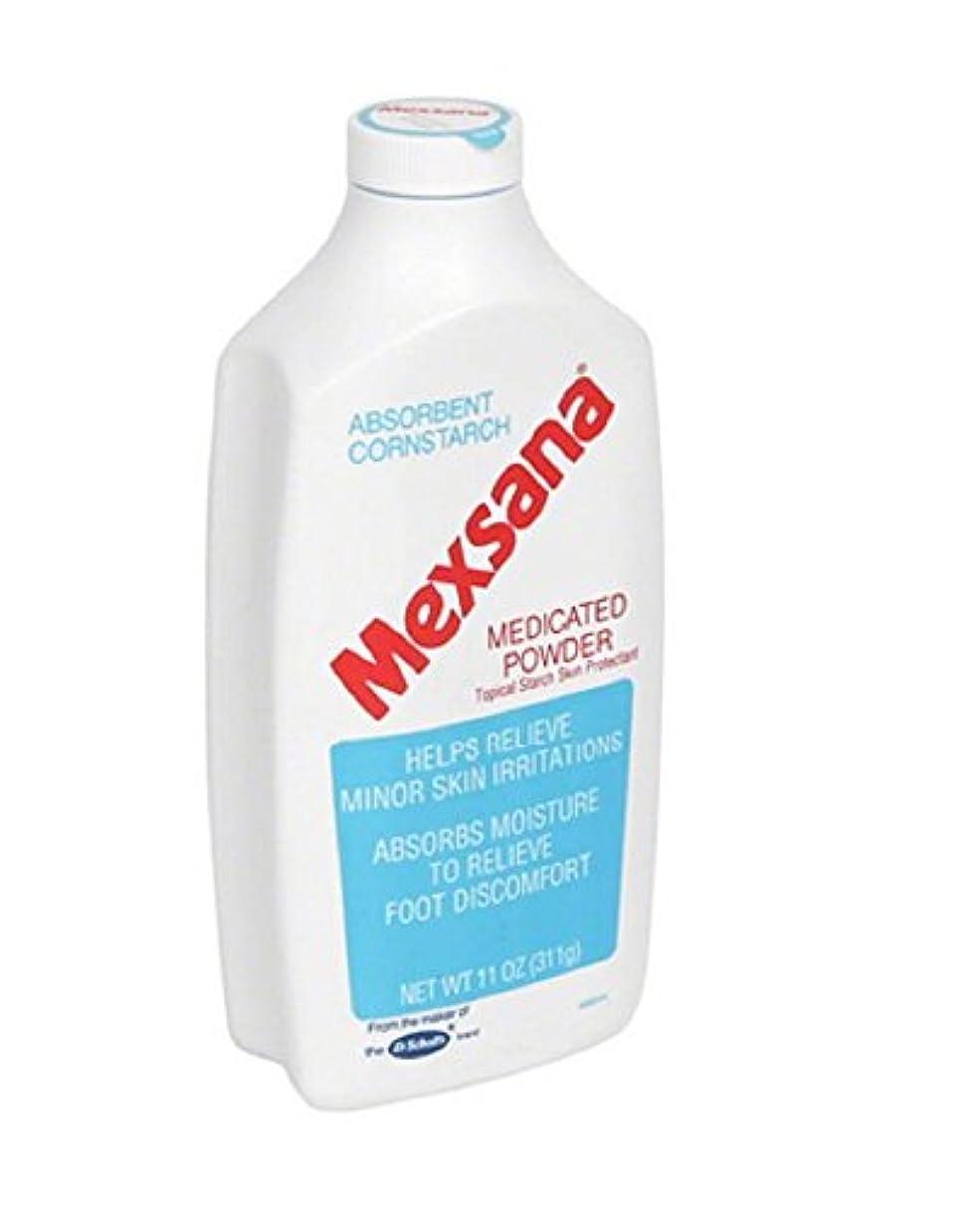 Mexsana パウダー-11オズは、薬用。 (2パック)