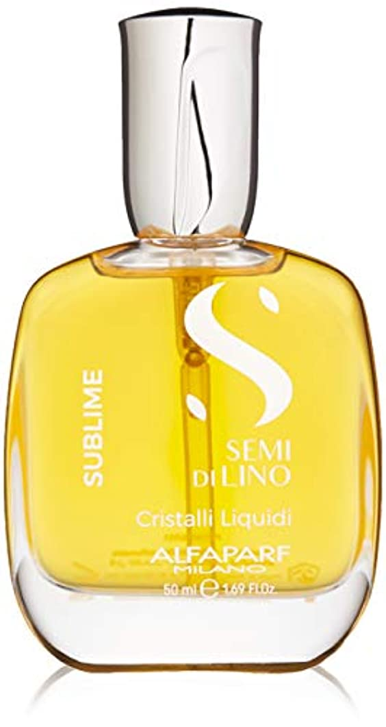 分岐する精神仕立て屋アルファパルフ Semi Di Lino Sublime Cristalli Liquidi (All Hair Types) 50ml/1.69oz並行輸入品