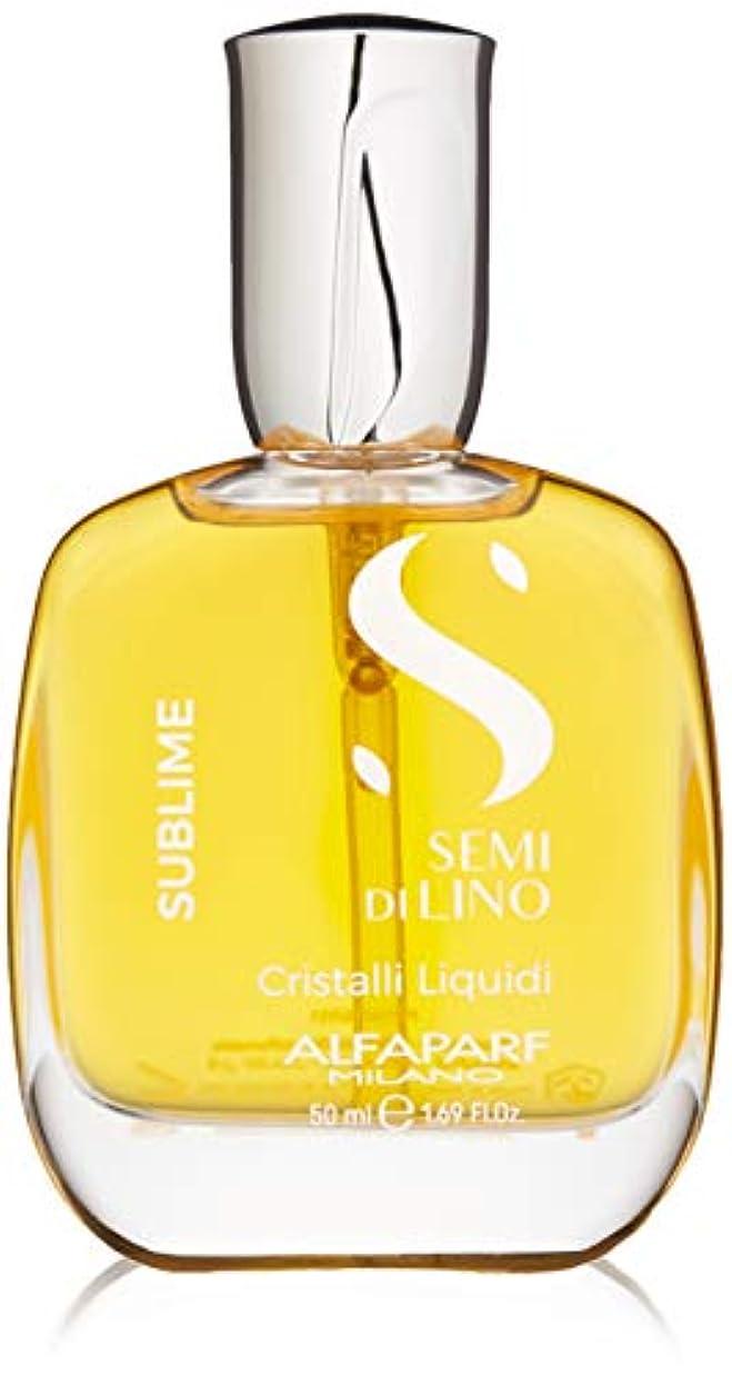 音声学ドキュメンタリー使い込むアルファパルフ Semi Di Lino Sublime Cristalli Liquidi (All Hair Types) 50ml/1.69oz並行輸入品
