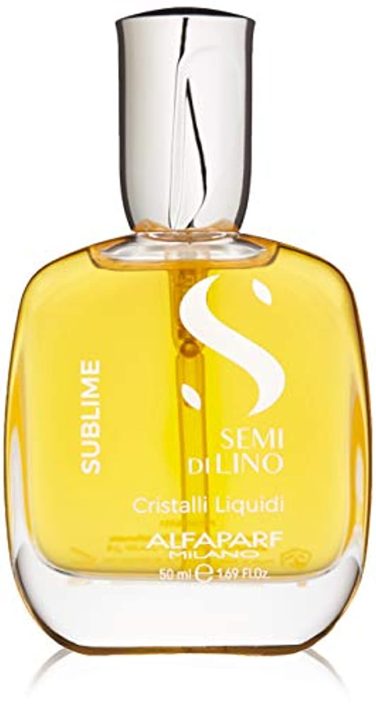 防腐剤深遠カードアルファパルフ Semi Di Lino Sublime Cristalli Liquidi (All Hair Types) 50ml/1.69oz並行輸入品
