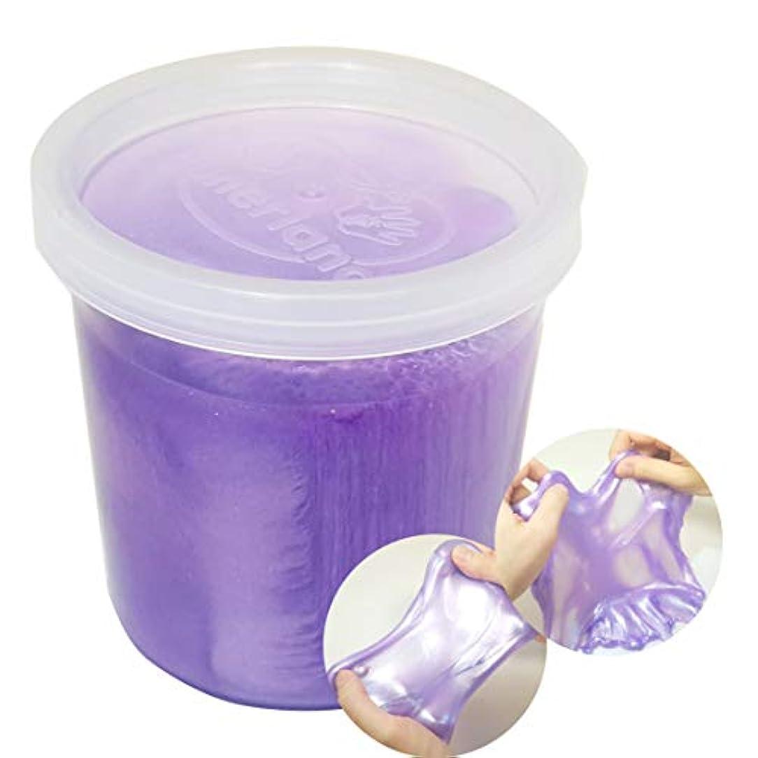 生物学誓約適切なdonerland Monster Slime (Purple) 150g モンスタースライム(パープル)- 大容量 構成 DIY 材料 柔らかい 様々な 感触 しっとり のびのび 伸びる クランチ サウンド - 液体モンスター, デコ,パーツ,ピースと混合 創造性 開発 ストレス発散 軽量 手を糊付けしない [海外直送品]
