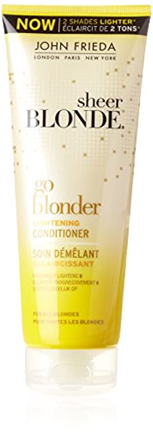 磁石けがをするやろうJohn Frieda Sheer Blonde Go Blonder Lightening Conditioner 250 ml