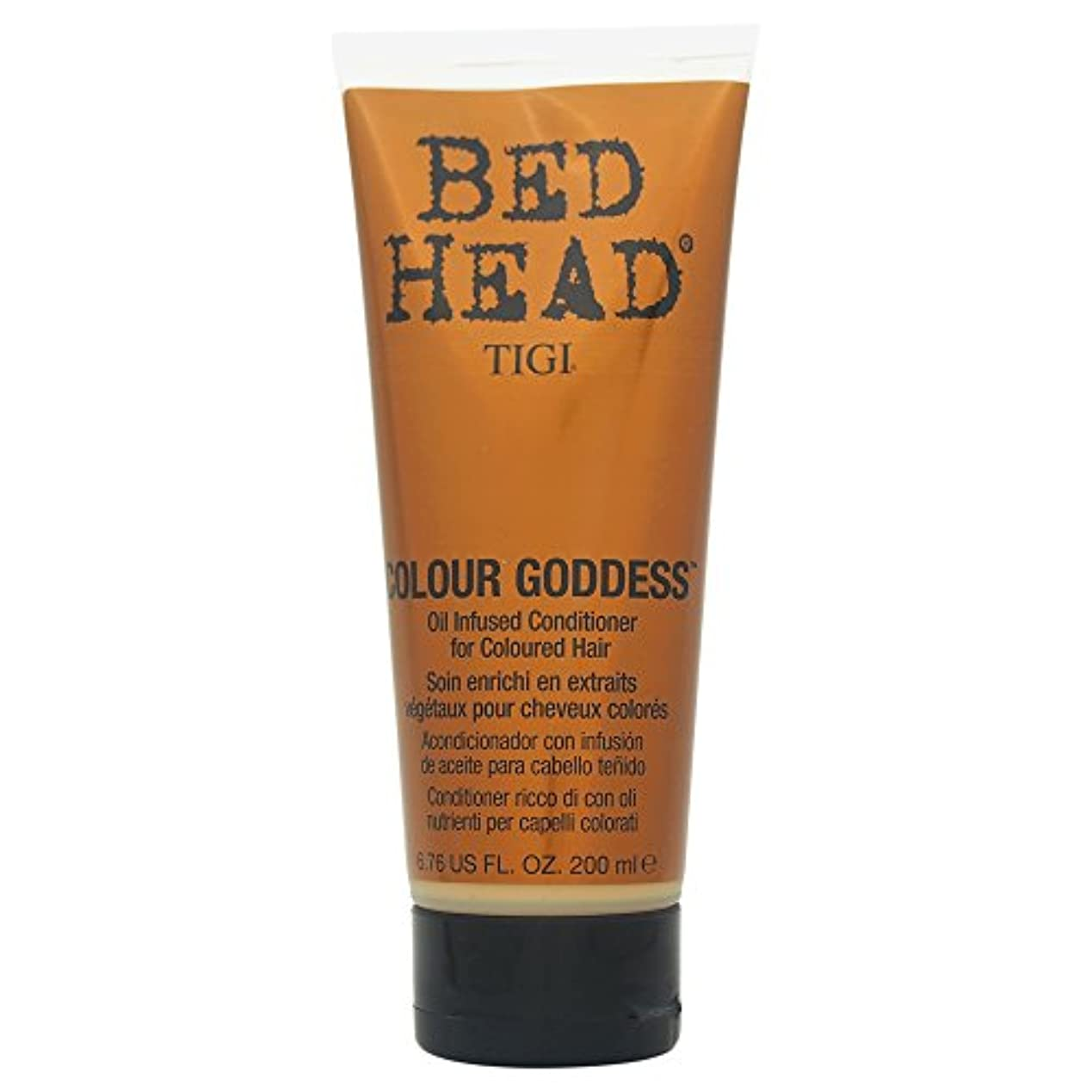 パーク綺麗な猟犬Tigi Bed Head Colour Goddess Oil Infused Conditioner 200ml [並行輸入品]