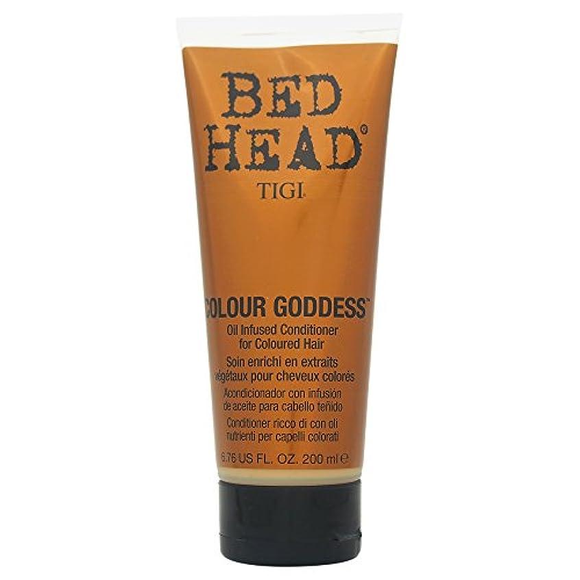 論理的に強化ラジカルTigi Bed Head Colour Goddess Oil Infused Conditioner 200ml [並行輸入品]