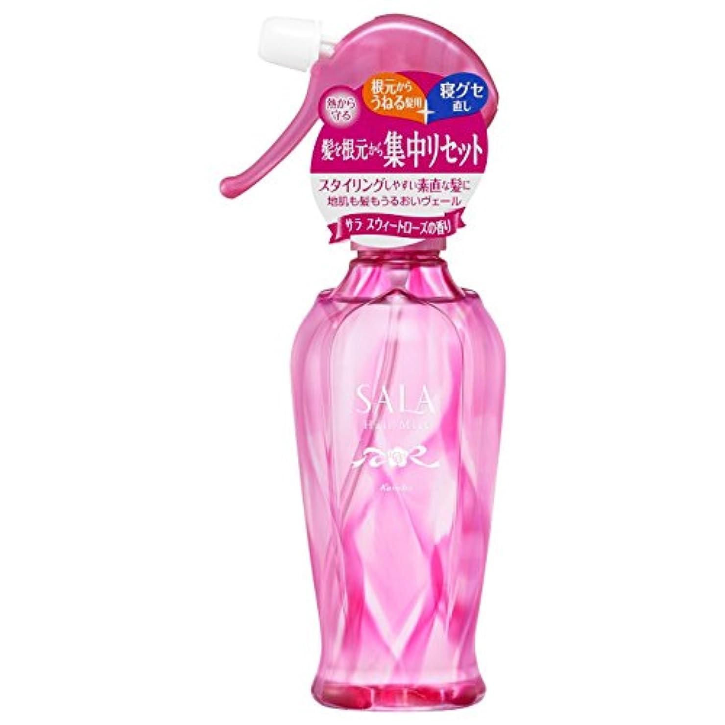 節約ホラースピンサラ 集中リセットサラ水 サラスウィートローズの香り