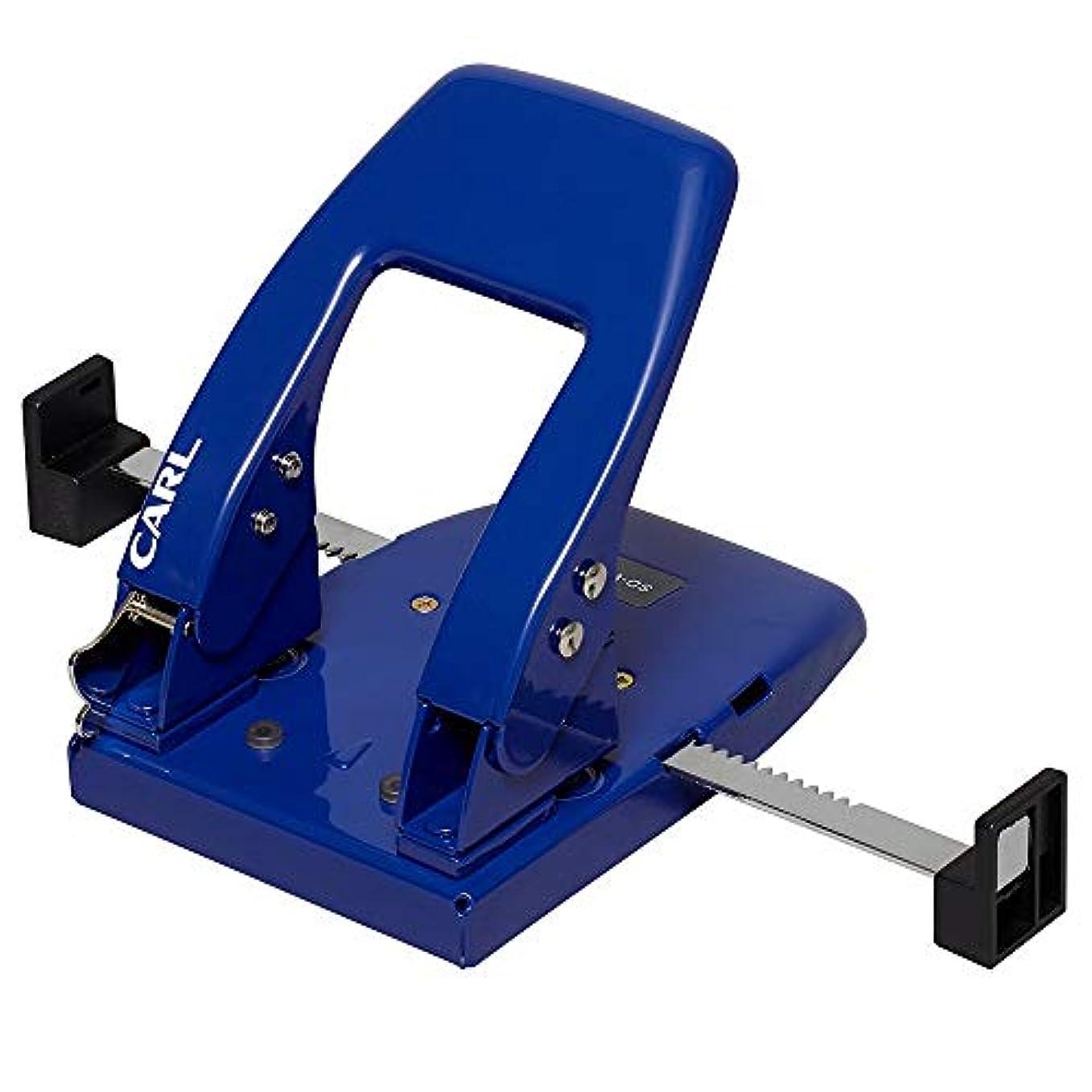 ブラケット観点写真撮影カール事務器 2穴パンチ ブルー SD-W50-B 【まとめ買い3個セット】