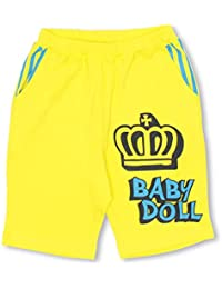 BABYDOLL(ベビードール) 通販限定 王冠ラクガキ ハーフパンツ-子供服 男の子 女の子 ベビー キッズ -0628K