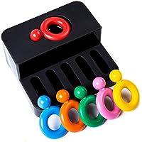 ペイント学習3dプラスチックリング形状ワックスクレヨン、毒性セーフEdible for Baby Kids (パッケージの6色)
