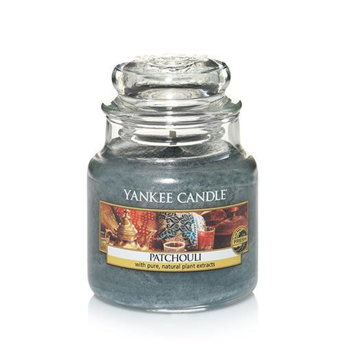 柔らかさまで愛人Yankee Candle Patchouli、新鮮な香り 3.7 oz. グリーン 138130-YC