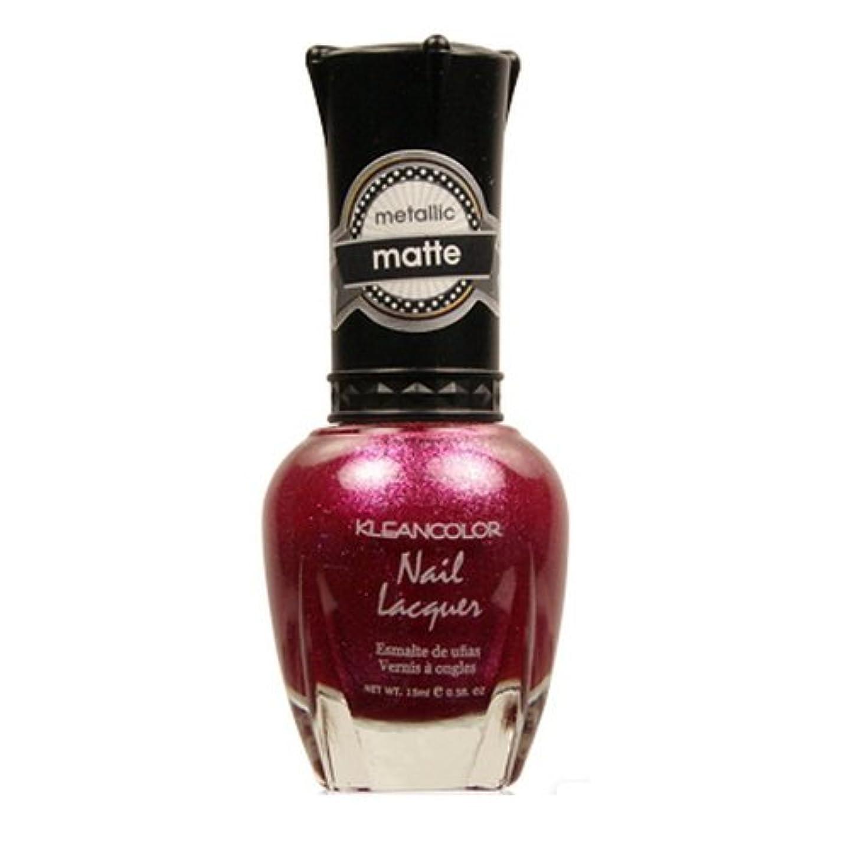広範囲にゴミトレイルKLEANCOLOR Matte Nail Lacquer - Cast a Love Spell (並行輸入品)