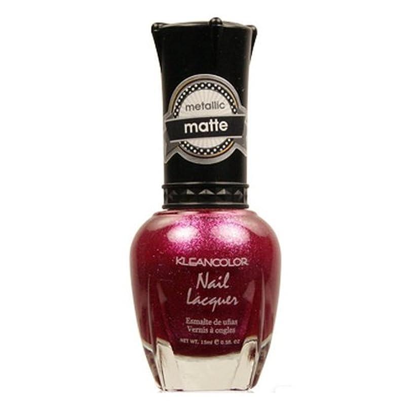 近傍リップ工業化する(3 Pack) KLEANCOLOR Matte Nail Lacquer - Cast a Love Spell (並行輸入品)