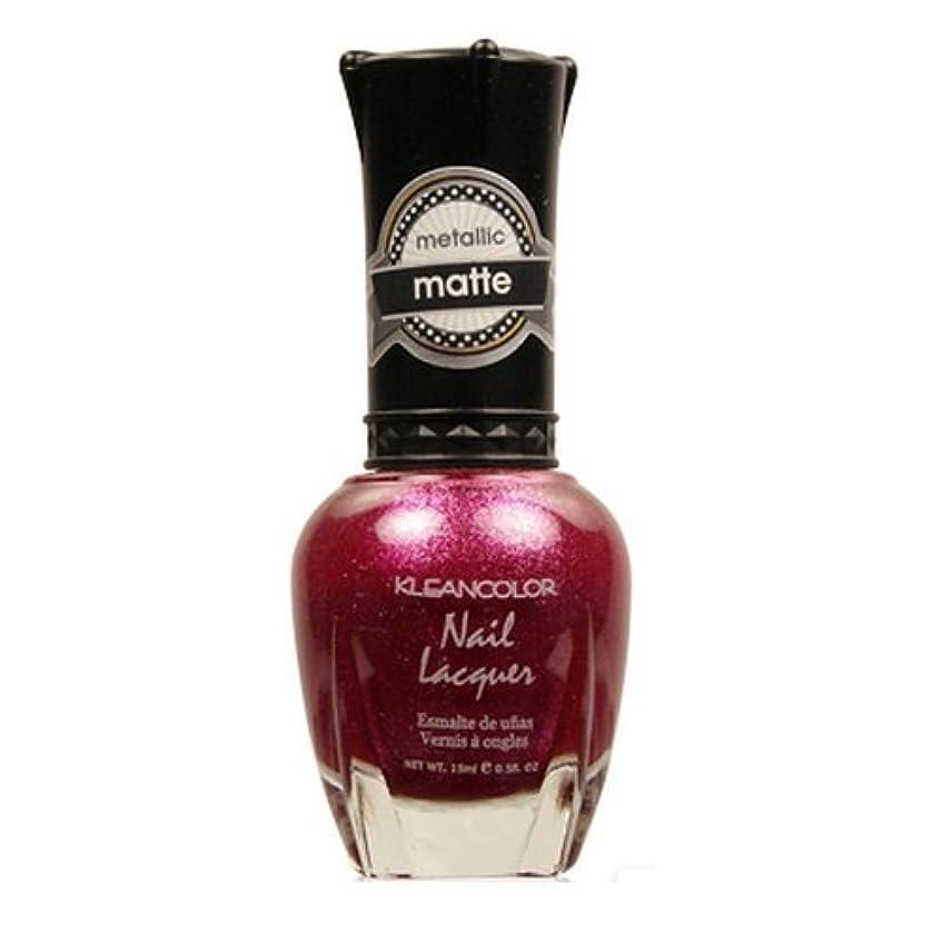 感度解決する立派な(6 Pack) KLEANCOLOR Matte Nail Lacquer - Cast a Love Spell (並行輸入品)