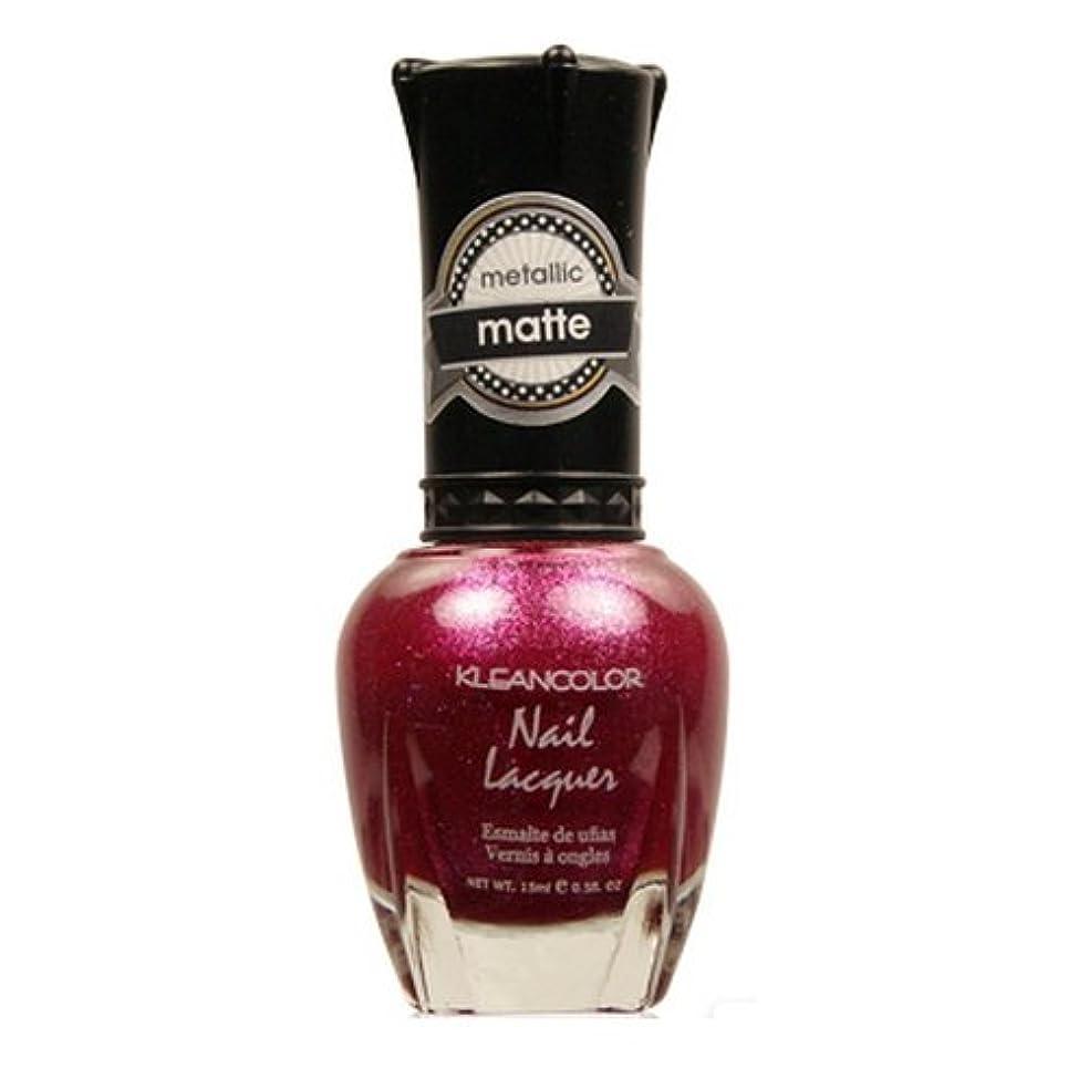 追い付く朝登録する(6 Pack) KLEANCOLOR Matte Nail Lacquer - Cast a Love Spell (並行輸入品)