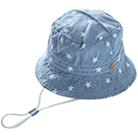 GEMVIE Baby Caps Bucket Summer Sun Hat Toddler Kids Cartoon Beanie Cap Beach Outdoor