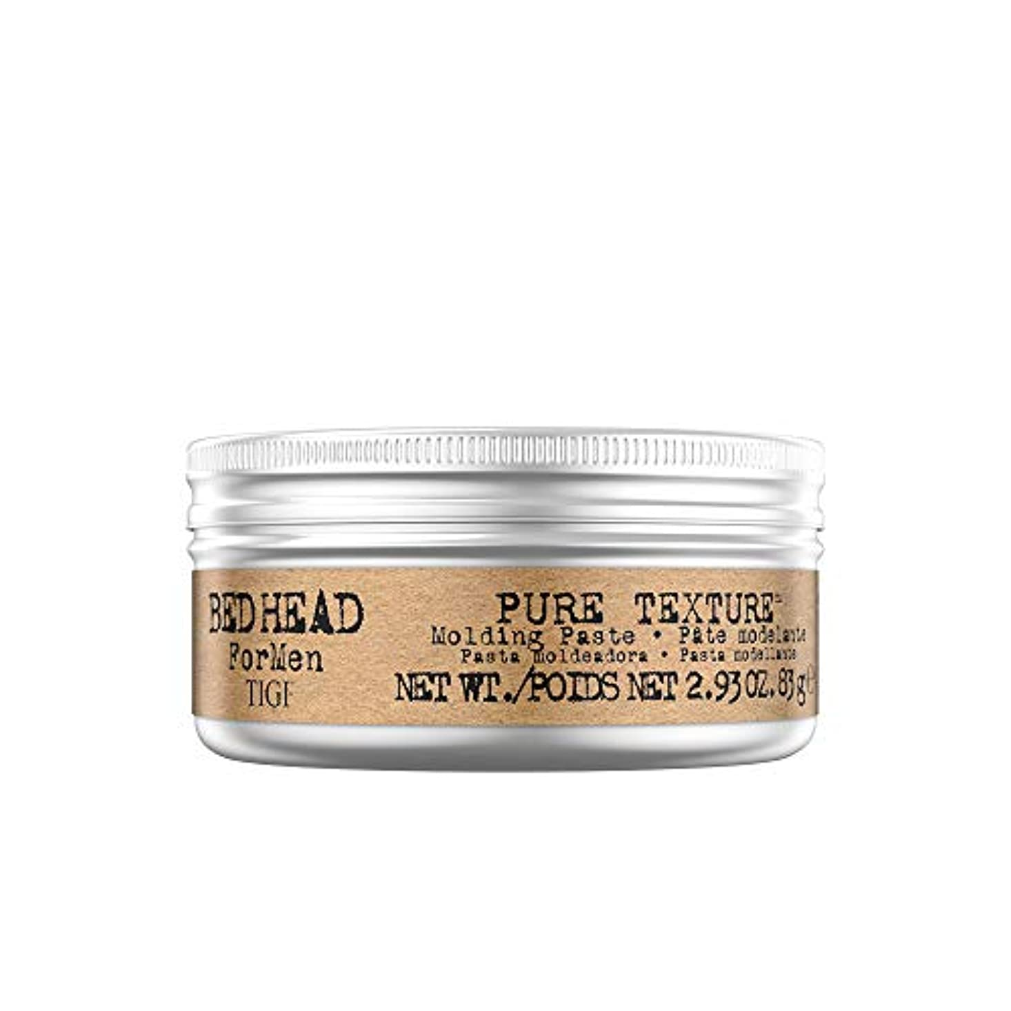 兵隊バラ色恐ろしいですTIGI Bed Head B Men's Pure Texture Molding Paste, 2.93 Ounce by TIGI