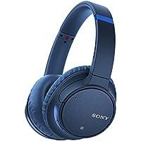 ソニー SONY ワイヤレスノイズキャンセリングヘッドホン WH-CH700N : Bluetooth対応 最大35時間連続再生 マイク付き 2018年モデル ブルー WH-CH700N L
