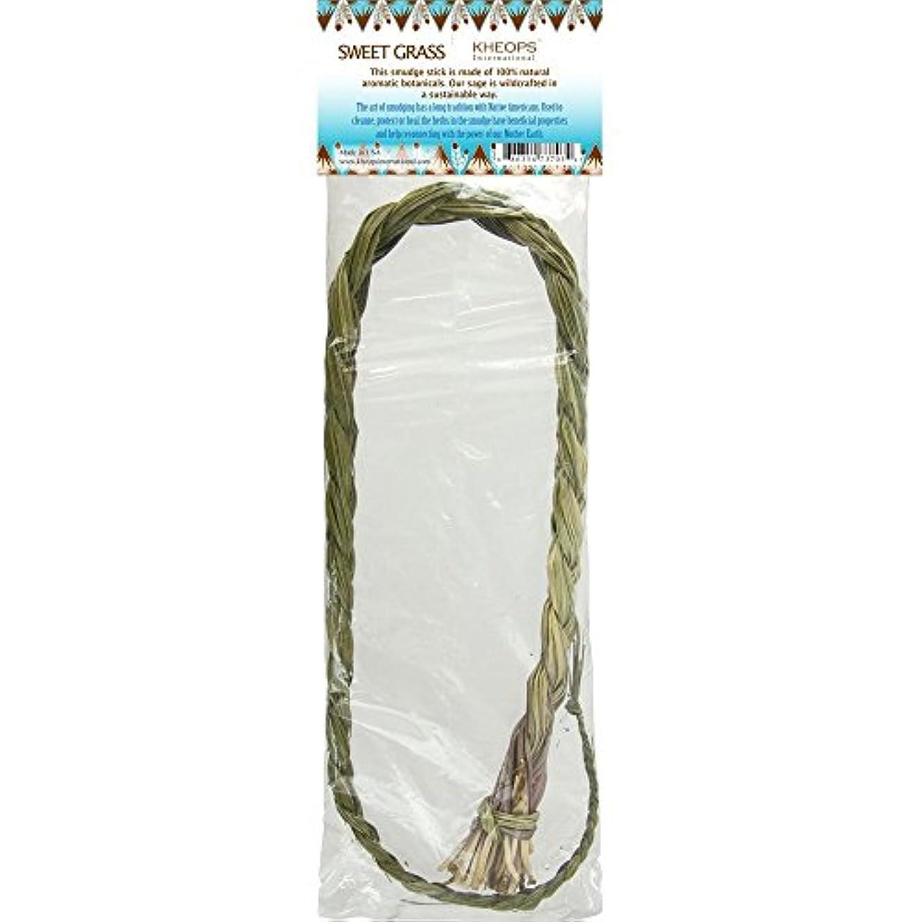 急行する緊張するハーブSmudge Herbs Sweetgrass三つ編み各