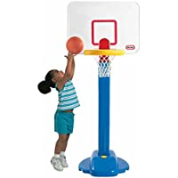 Kids ' Pro Jam Adjustable Heightsインドアアウトドアバスケットボールフープセット