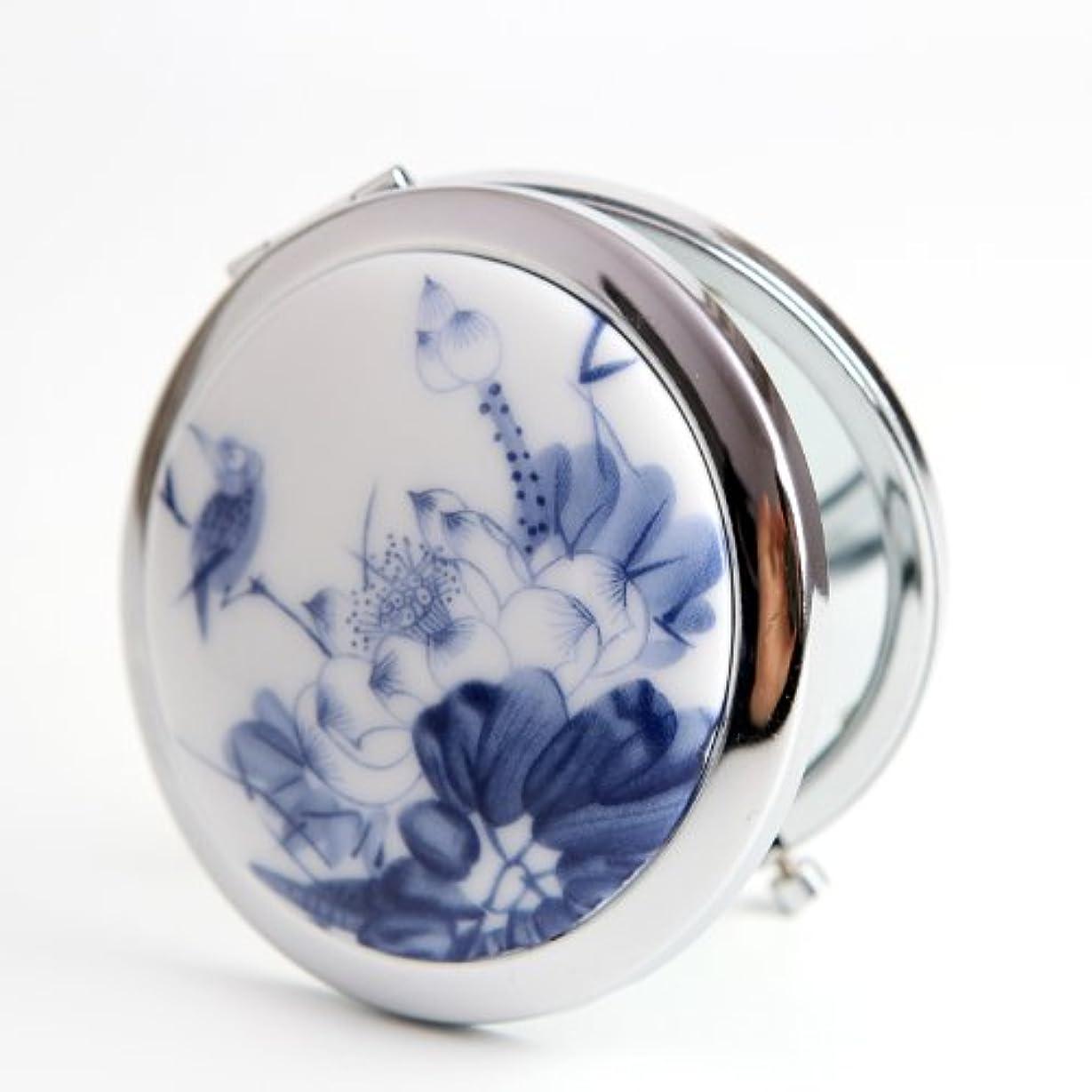 スプレー単調な富豪手作り 手鏡 レディース コンパクトミラー 化粧鏡 携帯ミラー 細かなメイクや日々のスキンケアに最適!