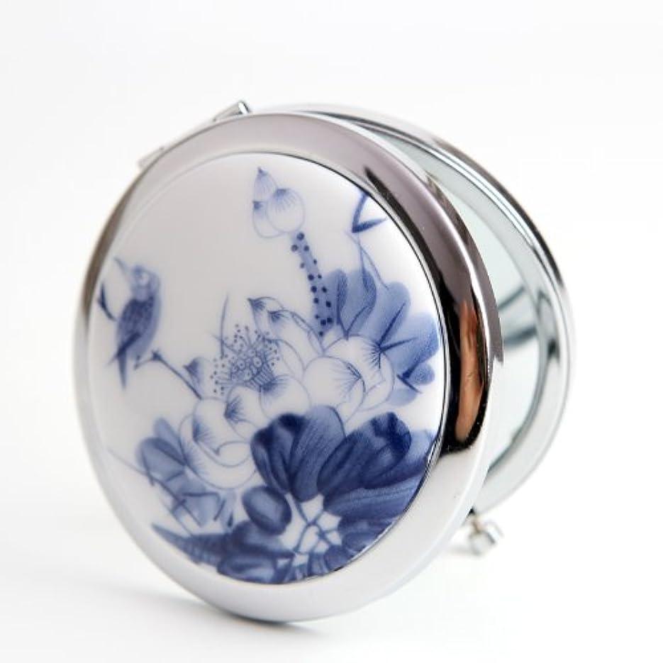 伝導率動作コスト手作り 手鏡 レディース コンパクトミラー 化粧鏡 携帯ミラー 細かなメイクや日々のスキンケアに最適!