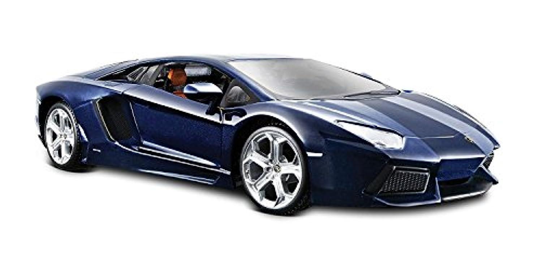 Maisto (マイスト) 2011 Lamborghini (ランボルギーニ) Aventador LP-700-4 1/24 Blue MA31210-BL ミニカー ダイキャスト 自動車 (並行輸入)