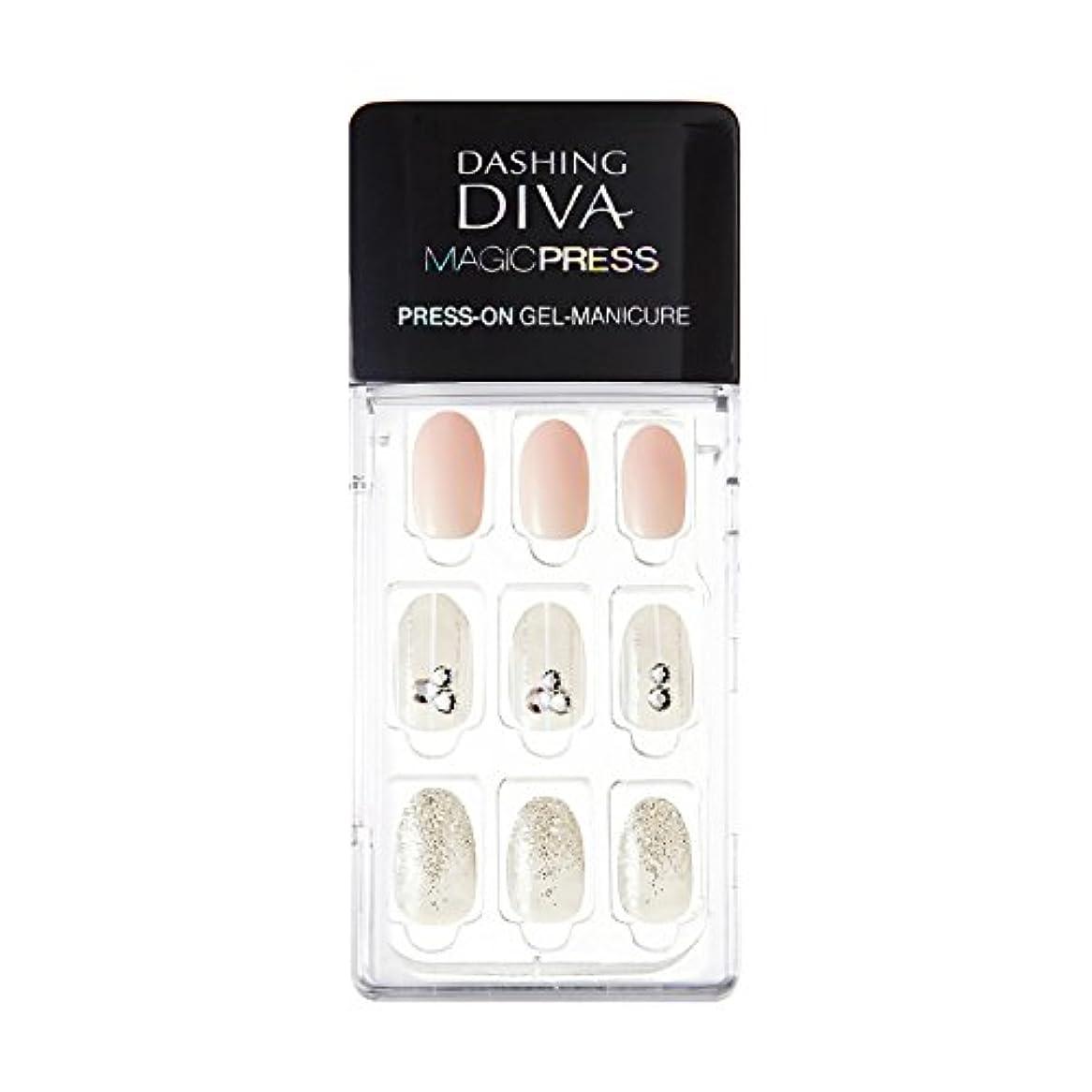 ダッシングディバ マジックプレス DASHING DIVA MagicPress MJP_008-DURY+ オリジナルジェル ネイルチップ