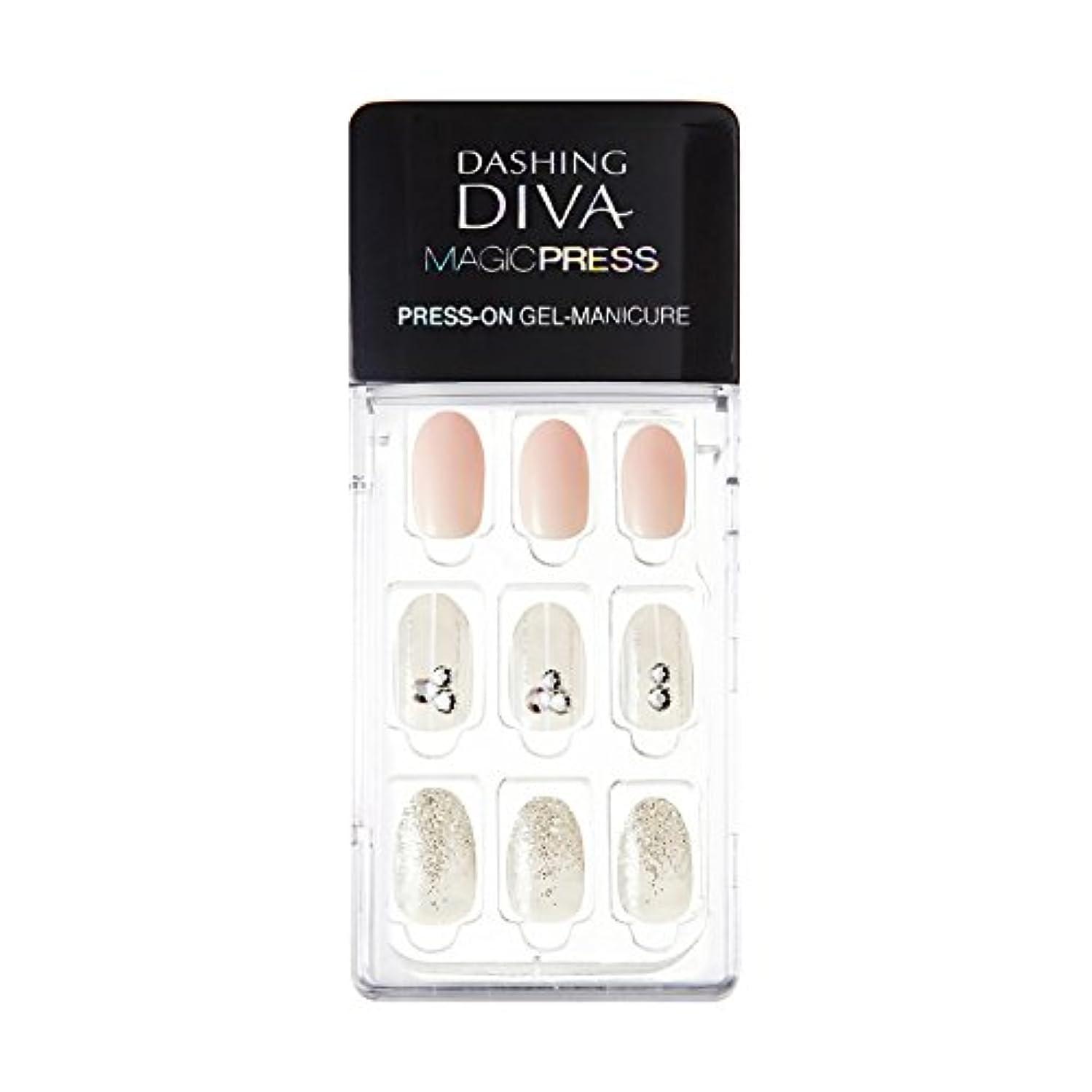 目指す担保わずかにダッシングディバ マジックプレス DASHING DIVA MagicPress MJP_008-DURY+ オリジナルジェル ネイルチップ