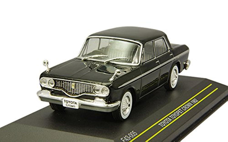 FIRST:43 1/43 トヨタ トヨペット クラウン 1962 ブラック 完成品