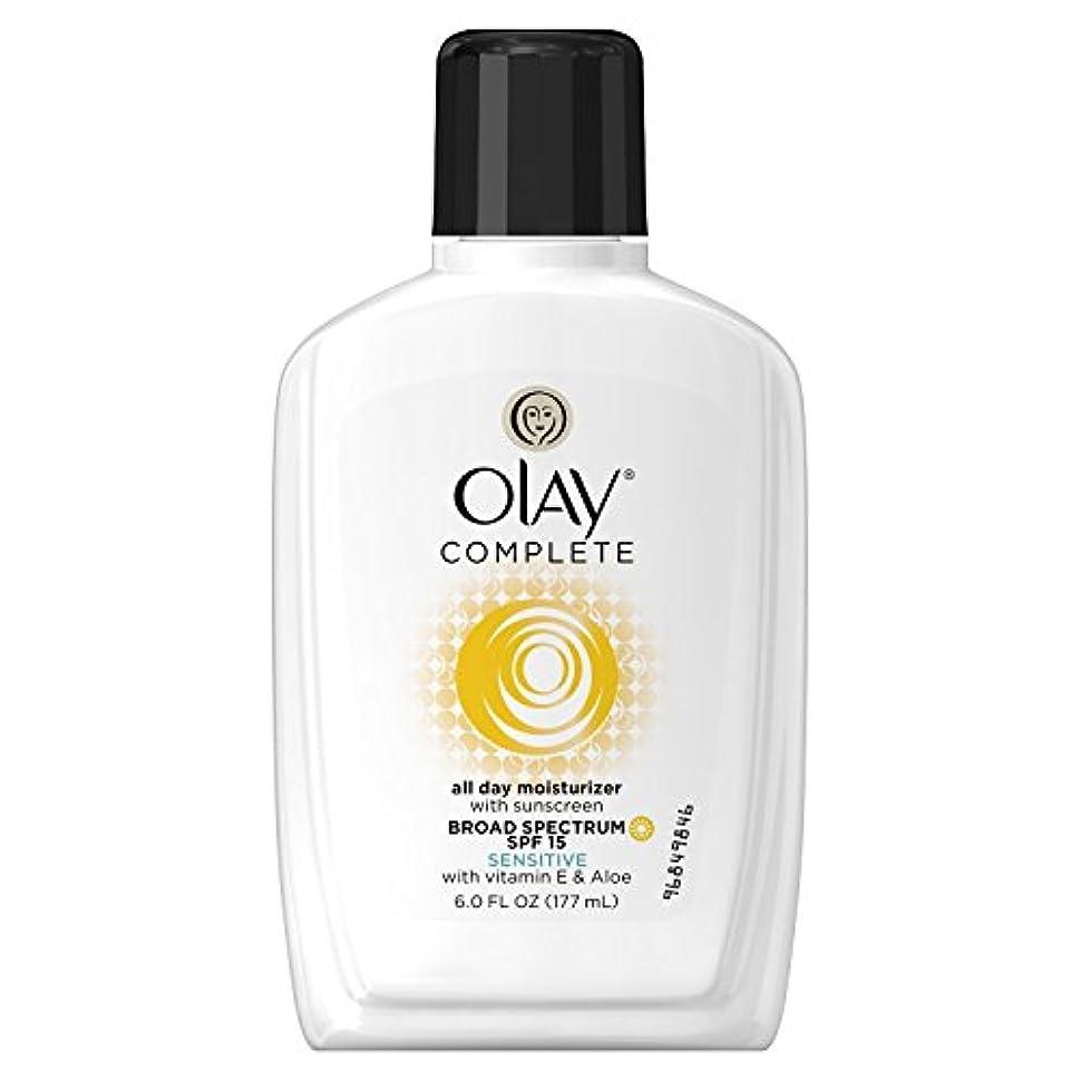 浸透するヒント早熟Olay Complete オーレイスペクトラムモイスチャライザーセンシティブ肌 SPF15 170mlx2 [並行輸入品]