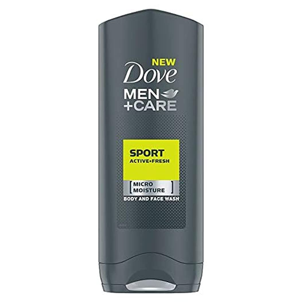 合理的心理的登録する[Dove] 鳩の男性+ケアスポーツアクティブフレッシュボディウォッシュ250ミリリットル - Dove Men+Care Sport Active Fresh Body Wash 250Ml [並行輸入品]