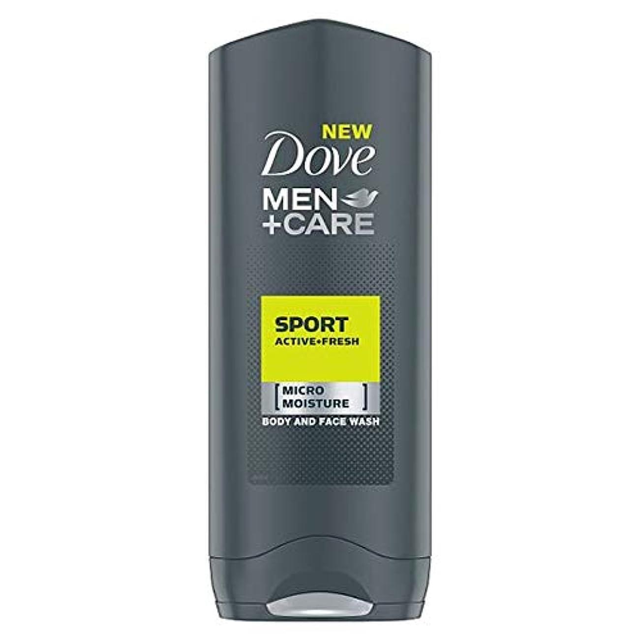 しおれたブリード広々とした[Dove] 鳩の男性+ケアスポーツアクティブフレッシュボディウォッシュ250ミリリットル - Dove Men+Care Sport Active Fresh Body Wash 250Ml [並行輸入品]