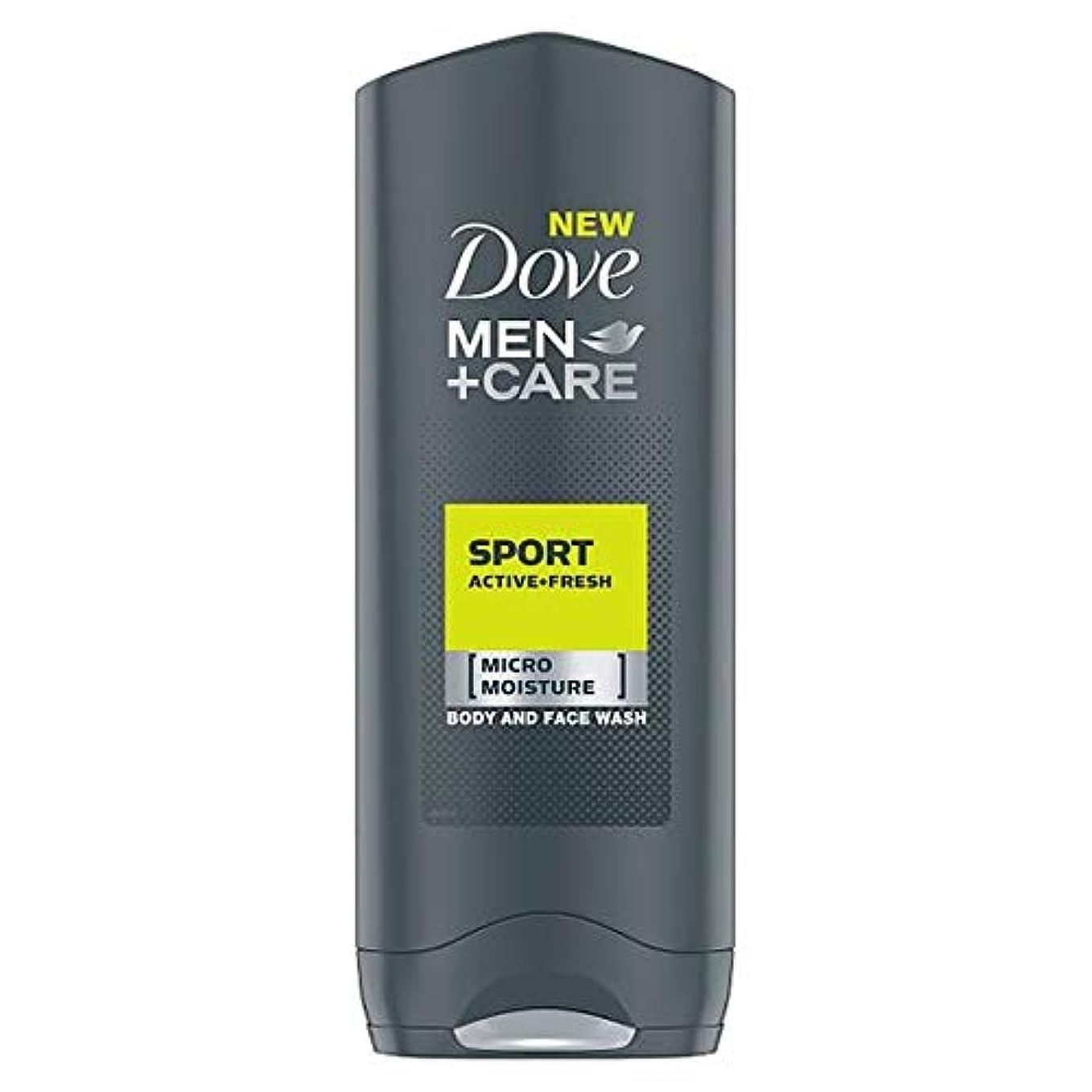 シャッター原理シングル[Dove] 鳩の男性+ケアスポーツアクティブフレッシュボディウォッシュ250ミリリットル - Dove Men+Care Sport Active Fresh Body Wash 250Ml [並行輸入品]
