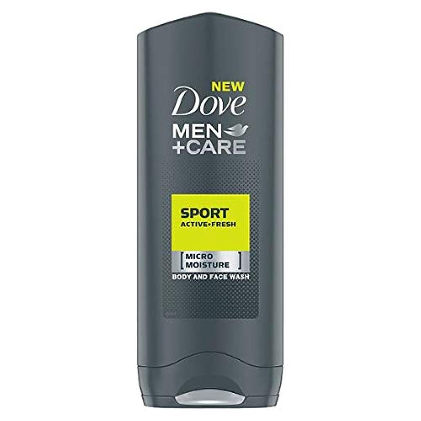 名詞世紀チャーミング[Dove] 鳩の男性+ケアスポーツアクティブフレッシュボディウォッシュ250ミリリットル - Dove Men+Care Sport Active Fresh Body Wash 250Ml [並行輸入品]