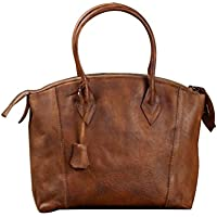 Genda 2Archer Women's Lady Italy Import Leather Satchel Briefcase Laptop Tote Bag